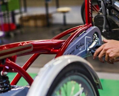 Van Raam Behindertenrad Behindertenräder Rollstuhlrad Rollstuhlräder Dreiradtandem Tandem Tandems