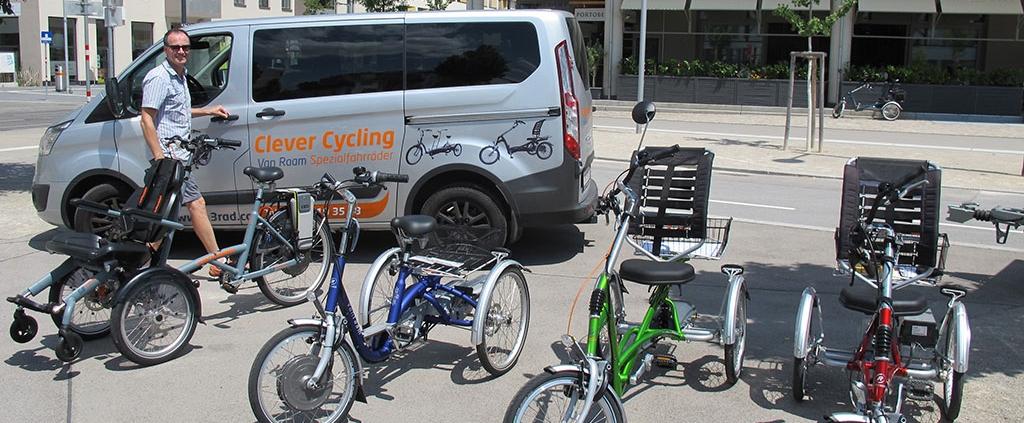 Clever Cycling in Wien Probefahren