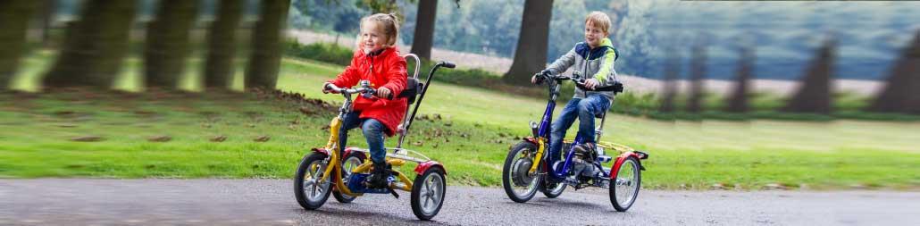 Therapieräder für Kinder